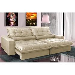 Sofa Retrátil e Reclinável com Molas Ensacadas Cama inBox