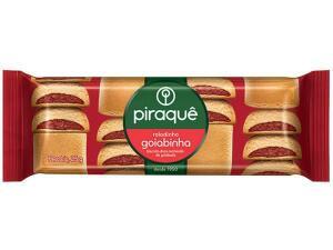 [R$ 1,00 DE VOLTA] Biscoito Recheado Goiaba Roladinho Goiabinha - Piraquê 25g