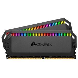 Memória Corsair Dominator RGB 32GB (2x16GB) 3466MHz DDR4 C16 Black | R$1.199