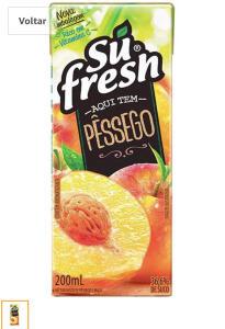 [PRIME] Suco Néctar Pêssego Sufresh 200Ml   R$ 1,43