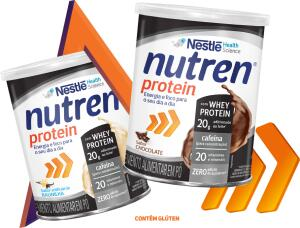 Amostra Grátis: Nutren Protein sabor Chocolate ou Baunilha