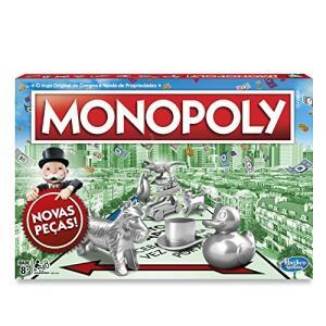 Jogo Hasbro Gaming Monopoly - C1009 Hasbro Gaming Verde/vermelho   R$80
