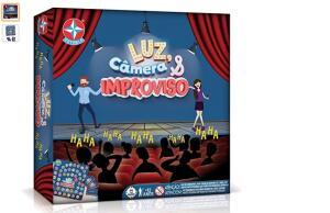 Luz, Câmera E Improviso Brinquedos Estrela Multicores | R$45