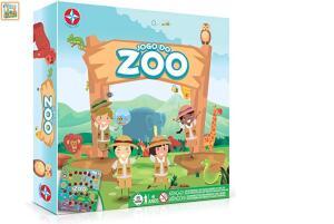 Jogo Do Zoo Brinquedos Estrela Multicores | R$40