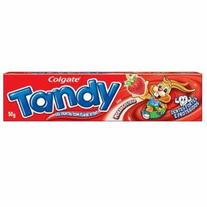 Creme Dental Tandy Morango 50g | R$ 3