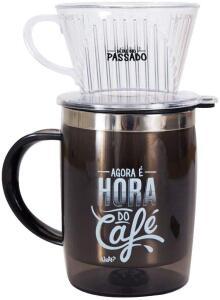 Caneca com filtro - hora do café | R$50