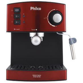 Cafeteira Philco Expresso 20 Bar Inox Red | R$417