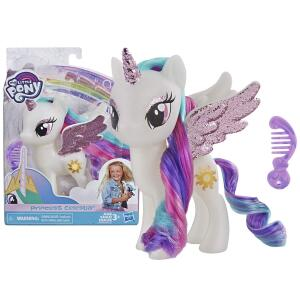 Figura, My Little Pony, E5964, Princesa Celestia - Hasbro, Branco R$ 45