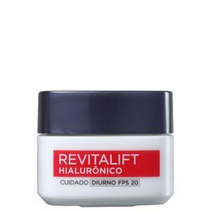 L'Oréal Paris Revitalift Hialurônico FPS 20 Tratamento Diurno- Anti-Idade 50ml   R$ 30