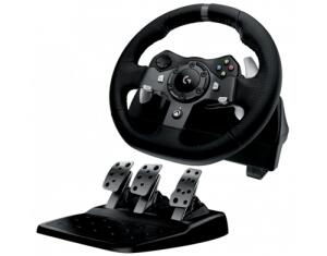 Volante Logitech Driving Force G920 para XBOX One / PC - R$1599