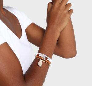 Kit pulseira 4 peças diversas - R$5,90