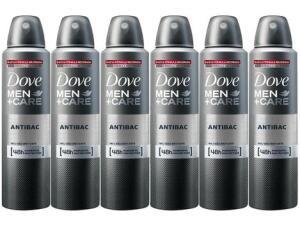 Dove Men+Care Antibac 150ml Cada 6 Unidades