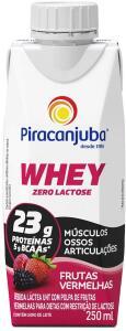 Whey zero lactose piracanjuba (250mL) | R$ 3