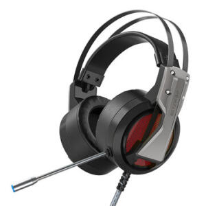 Headset Gamer BlitzWolf® BW-GH1 7.1 Surround com RGB - R$134