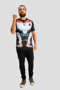 Camiseta Vingadores Peitoral Filme | R$20