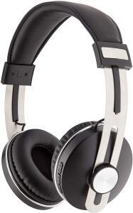 Fone de Ouvido Bluetooth, Geonav, Over Ear AerUrban, Preto   R$150