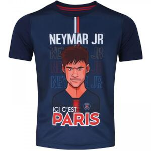 Camiseta PSG Neymar Jr. Bomache - Infantil | R$49