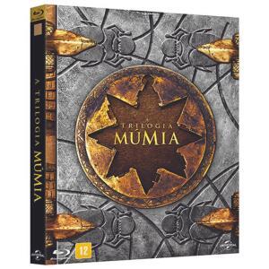 BLU-RAY BOX - TRILOGIA - A MÚMIA R$38