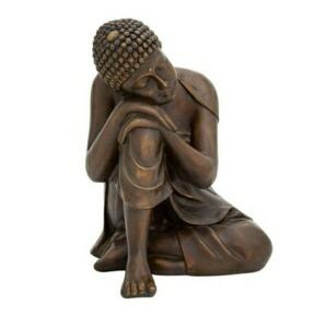 Buda decorativo explorer serenity 28 cm - home style | R$ 65