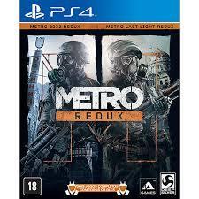 [PS4] Jogo - Metro Redux | R$30