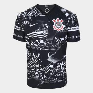 Camisa Corinthians III 19/20 Torcedor Nike - Invasões | R$100