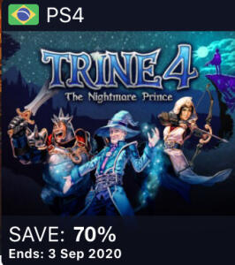[PS4] Trine 4: The Nightmare Prince R$ 37