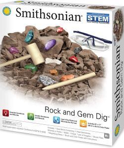 [Prime] Kit para escavação - Escavando Pedras e Gemas Preciosas Smithsonian | R$ 80