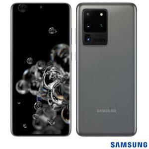Samsung Galaxy S20 Ultra 128GB Cinza R$5.399