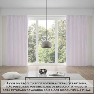 Cortina Blackout 2,60X1,70M Com Ilhos | R$25