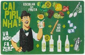 Tabua de Vidro para Caipirinha Bartender 22 cm, Euro