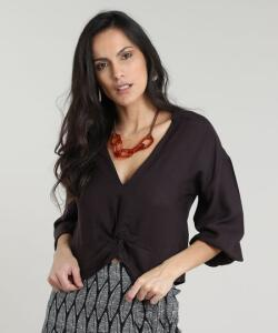 Blusa Feminina Cropped Tamanho M.