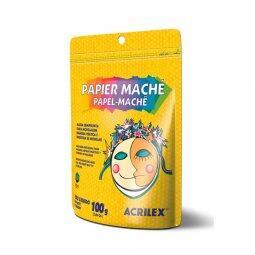 PAPEL MACHÉ 100G - ACRILEX | R$9