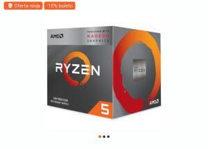 Processador AMD Ryzen 5 3400G, Cache 6MB, 3.7GHz (4.2GHz Max Turbo), AM4 - R$950