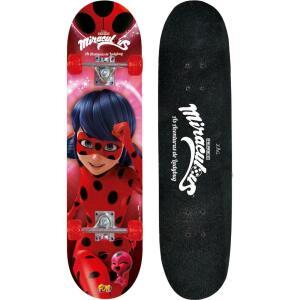 Skate Miraculous Ladybug com Acessorios de Seguranca Fun Divirta-Se R$ 195