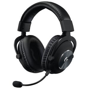 Headset Gamer Logitech G PRO, Stereo, Drivers Pro-G de 50 mm - R$650