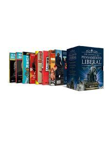 [Frete Prime] Box Biblioteca do Pensamento Liberal   R$ 98