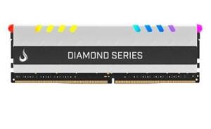 Memória Rise Mode Diamond RGB, 8GB, 3200MHz, CL15 R$ 299