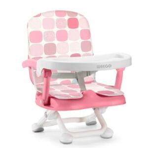 Cadeira De Alimentacao Portatil Up Seat Rosa | R$203