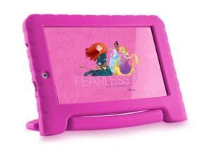 Tablet Multilaser Disney Princesas Plus 16GB Rosa | R$394