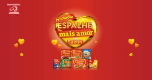 Promoção Espalhe Mais Amor com Sazon (Ajinomoto)