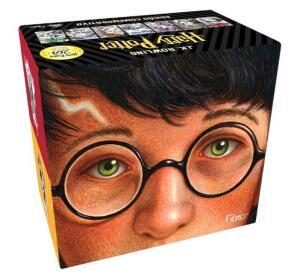 Box Harry Potter 20 anos Capa Dura - R$246