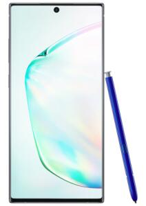 Samsung Galaxy Note10, Prata, 256GB, Tela 6.3 FHD+, Câm. 16MP R$2299