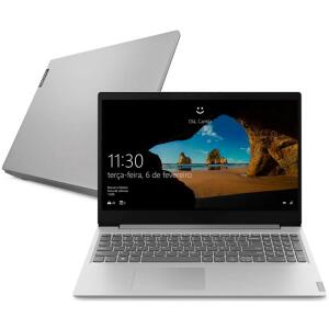 Notebook Lenovo Ultrafino Ideapad S145, AMD Ryzen 7-3700U, 8GB, SSD 256GB, Windows 10, 15.6´, Prata - R$3.679