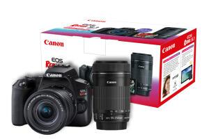 Câmera EOS Rebel SL3 Premium Kit com Lente EF-S 18-55mm R$ 3149