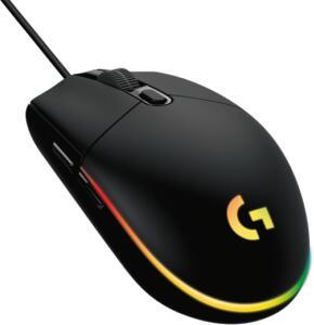 Mouse Logitech G203 LIGHTSYNC - Preto | R$119