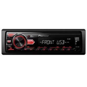 Som Automotivo Pioneer MVH-98 Preto Rádio FM USB R$ 190