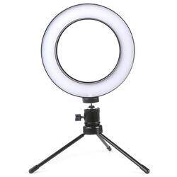 Iluminador De Led Com Tripe Ring Light Usb 16cm 3500k 5500k R$ 75