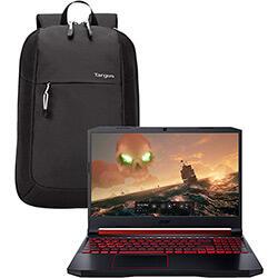 Notebook Gamer Acer Aspire Nitro 9ª i7 - 16GB (GeForce GTX1650, 4GB) 1TB + 128GB SSD 15,6'' Endless Os + Mochila Targus Intellect