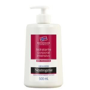 Hidratante Corporal Intensivo Neutrogena Norwegian Sem Fragrância 500ml | R$ 45