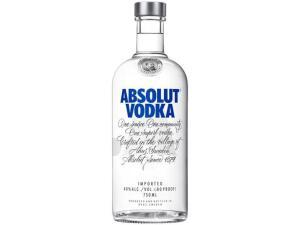 [Clube da Lu - R$ 58] Vodka Absolut Original - 750ml | R$ 65
